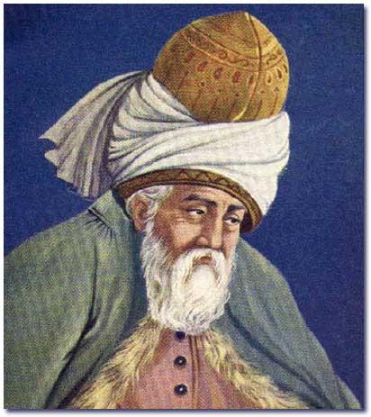 تحقیق درباره مولانا جلال الدین محمد مولوی