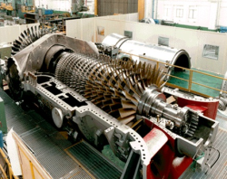 مطالعه و بررسی انواع  توربین ها و کمپرسور های گازی