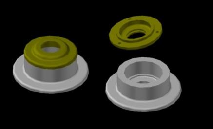 آموزش اتوکد سه بعدی (ساخت احجام) در یک جلسه